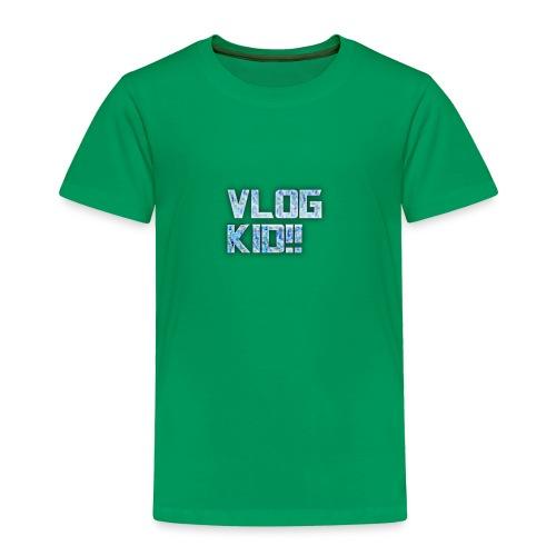 Vlog Kid - Toddler Premium T-Shirt