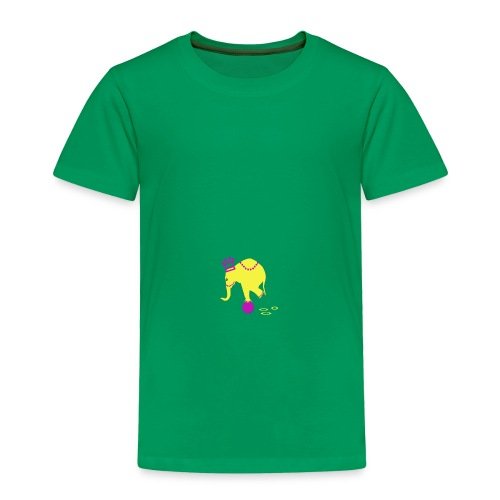 Playful Elephant - Toddler Premium T-Shirt
