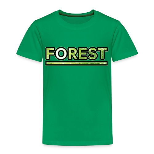 Forest - Double Exposure - Effect - Toddler Premium T-Shirt