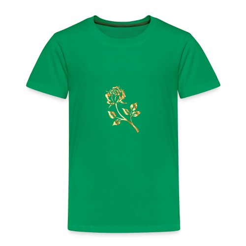 Golden Rose By MARCO XD - Toddler Premium T-Shirt