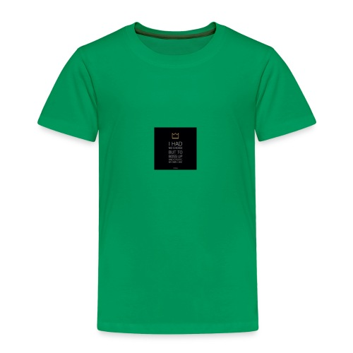 just smile for me - Toddler Premium T-Shirt