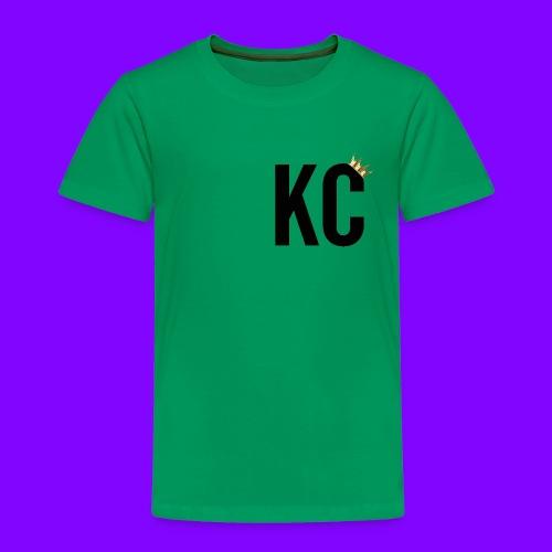 Black Font KC - Toddler Premium T-Shirt