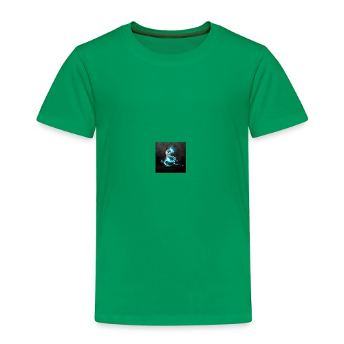 abstract blue dragons blue dragon logos amd 2560x1 - Toddler Premium T-Shirt