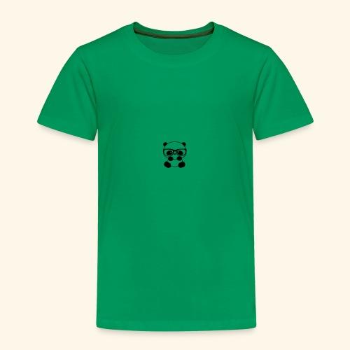 Glass wearing panda - Toddler Premium T-Shirt