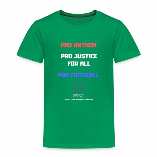 Pro Football Tee and Hoodie - Toddler Premium T-Shirt