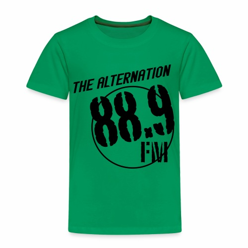 Alternation Slant Logo - Toddler Premium T-Shirt