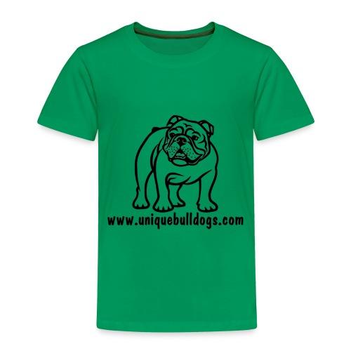 Unique Bulldogs - Toddler Premium T-Shirt