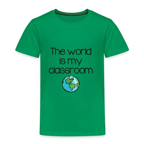 World Classroom - Toddler Premium T-Shirt