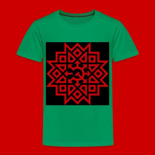 Chaos Communism Button - Toddler Premium T-Shirt
