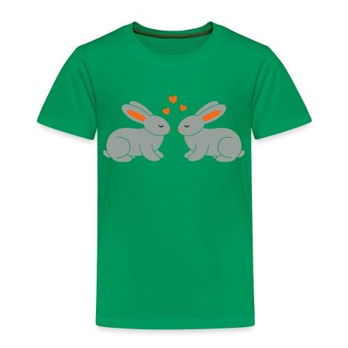 Rabbit Love - Toddler Premium T-Shirt