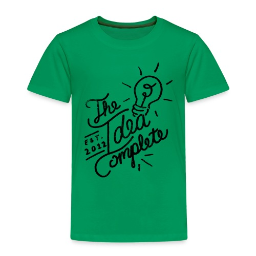 The Idea Complete Hand Drawn Tee - Toddler Premium T-Shirt