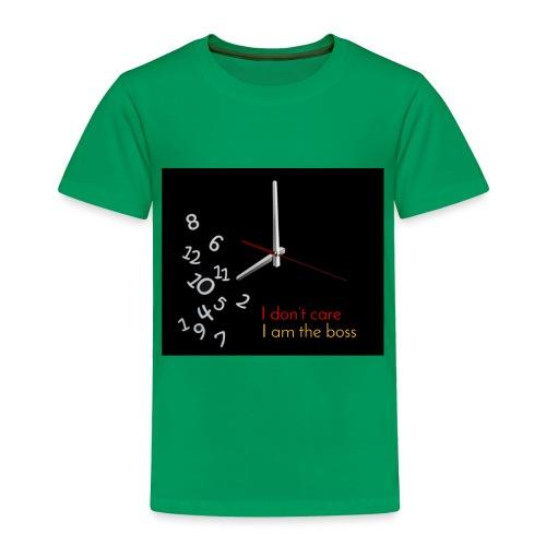 I am the boss - Toddler Premium T-Shirt
