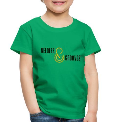 Full Logo (000000) - Toddler Premium T-Shirt
