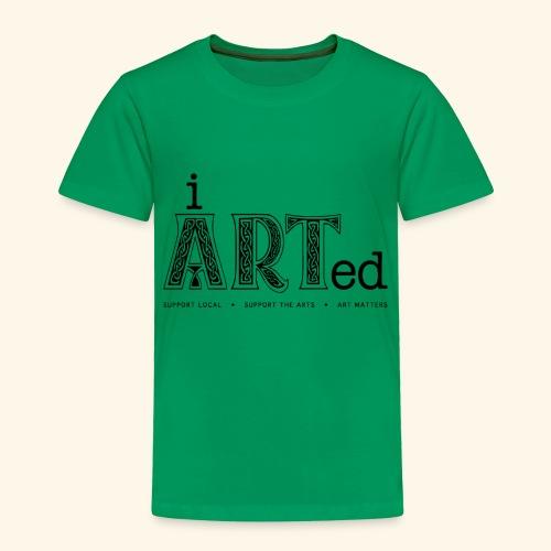 i arted (Irish theme) - Toddler Premium T-Shirt