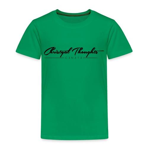 Christyal Thoughts C3N3T3 - Toddler Premium T-Shirt