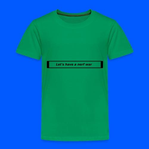 Nerf™ War design - Toddler Premium T-Shirt
