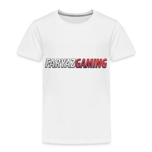 FaryazGaming Text - Toddler Premium T-Shirt