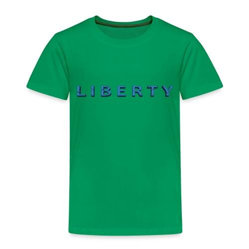 Liberty Libertarian Design - Toddler Premium T-Shirt
