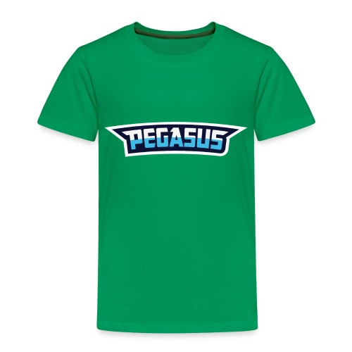 Mr Pegasus Text - Toddler Premium T-Shirt