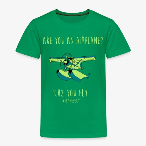 Are You an Airplane? - Toddler Premium T-Shirt