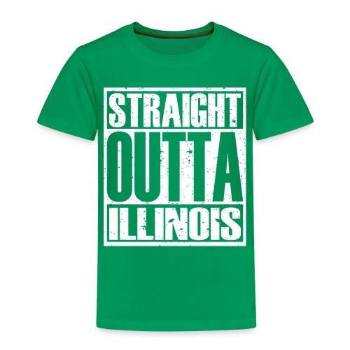 Straight Outta Illinois - Toddler Premium T-Shirt