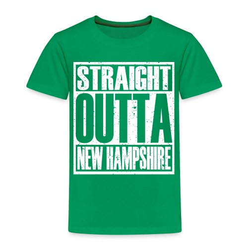 Straight Outta New Hampshire - Toddler Premium T-Shirt