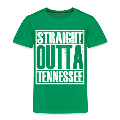 Straight Outta Tennessee - Toddler Premium T-Shirt