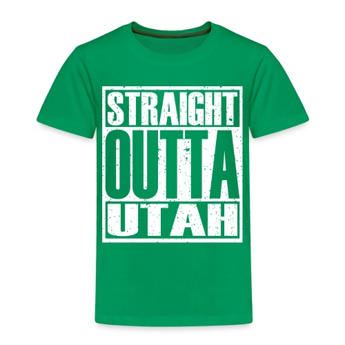Straight Outta Utah - Toddler Premium T-Shirt