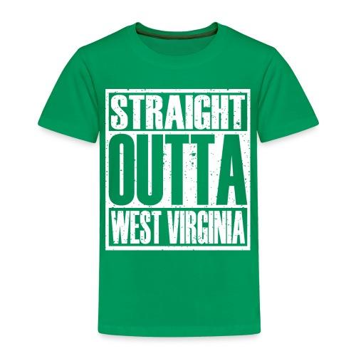 Straight Outta West Virginia - Toddler Premium T-Shirt