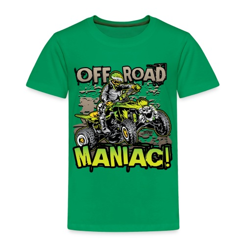 ATV Quad Skull Rider - Toddler Premium T-Shirt
