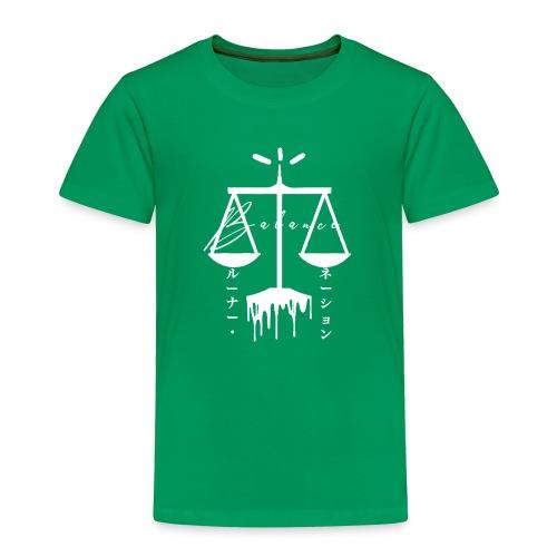balance T - Toddler Premium T-Shirt