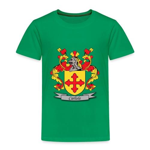 Carlisle Family Crest - Toddler Premium T-Shirt