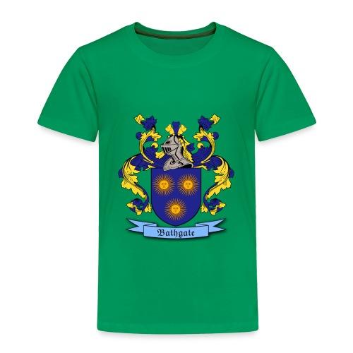 Bathgate Family Crest - Toddler Premium T-Shirt