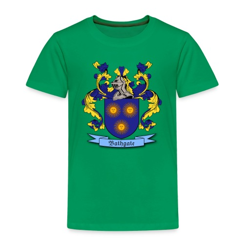 Bathgate Family Crest - Toddler Premium T-Shirt