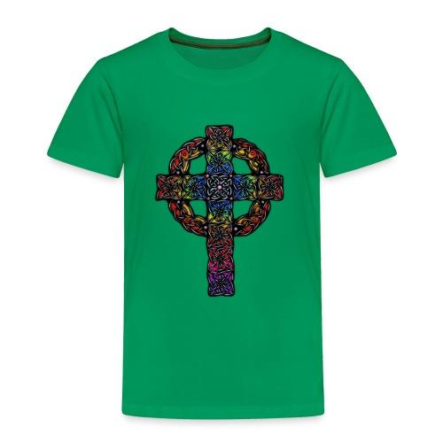 Celtic Cross rainbow - Toddler Premium T-Shirt