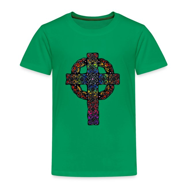Celtic Cross rainbow