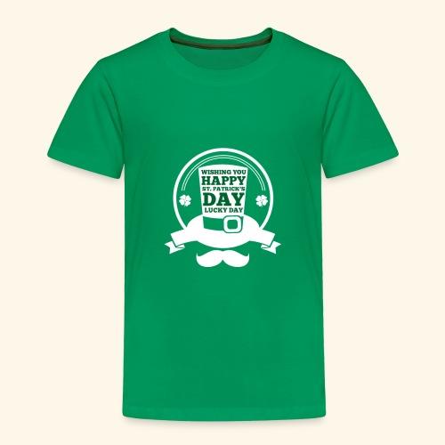 patrick day - Toddler Premium T-Shirt