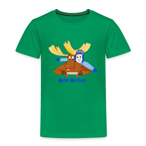 Moose Mischief - Toddler Premium T-Shirt