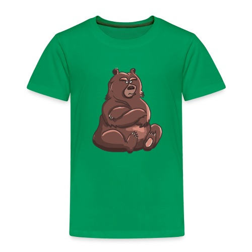 Bear in Contempt T-Shirt - Toddler Premium T-Shirt