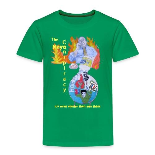 Mayo-Conspiracy - Toddler Premium T-Shirt