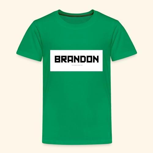 Brandon handley - Toddler Premium T-Shirt