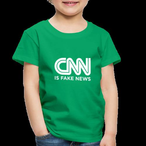 CNN Is Fake News - Toddler Premium T-Shirt