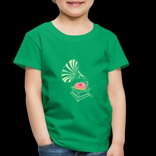 Donut Stop the Music | Sweet Gramophone - Toddler Premium T-Shirt