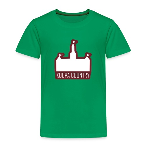 Koopa Country - Toddler Premium T-Shirt
