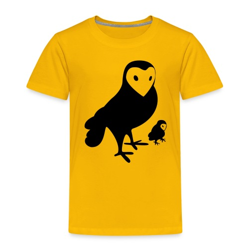 Owl - Toddler Premium T-Shirt