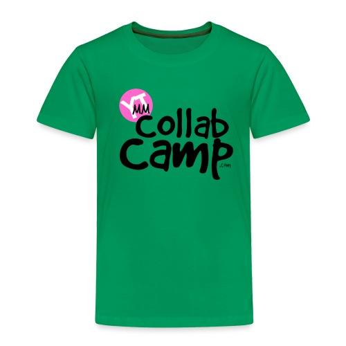 COLLAB CAMP T PINK K png - Toddler Premium T-Shirt