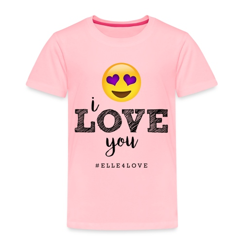 I LOVE you - Toddler Premium T-Shirt