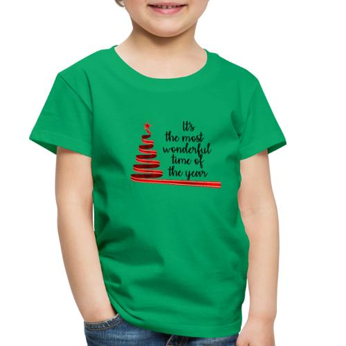 Wonderful time of the year - Toddler Premium T-Shirt