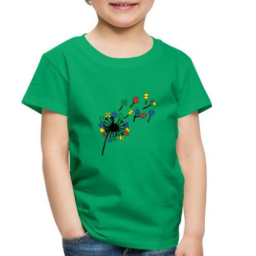 Autism Awareness Dandelion - Toddler Premium T-Shirt