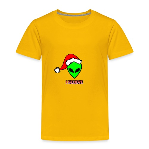 Santa Alien - Toddler Premium T-Shirt